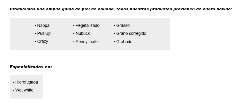 our-products-espanol